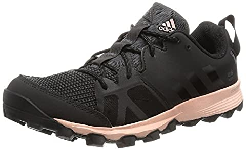 adidas Kanadia 8 Tr W, Chaussures de running entrainement femme, Noir (Color Utility Black/Core Black/Vapour Pink),