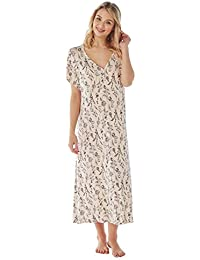 Ladies Long Plus Size Jersey Nightshirt in 7 Prints. Sizes 14-16 18- 63ba32fe5
