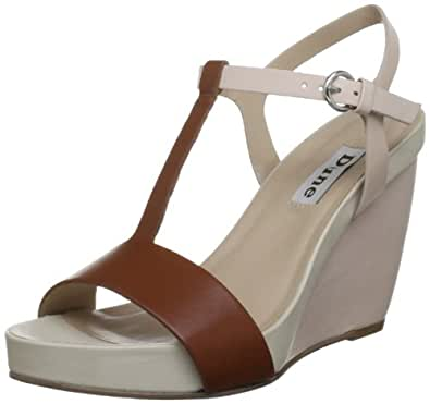 Dune Women's Nude Wedges GENIUS 4 UK