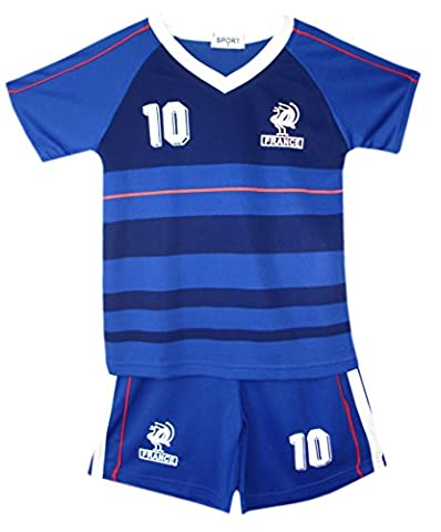 Enfants - Ensemble maillot & short de football été - 32 (3-4 ans), France