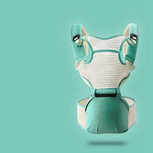Relddd Babyrückentragen Multifunktionale Vier Jahreszeiten Universal Baby Gurt atmungsaktiv leichte sitzen Hocker