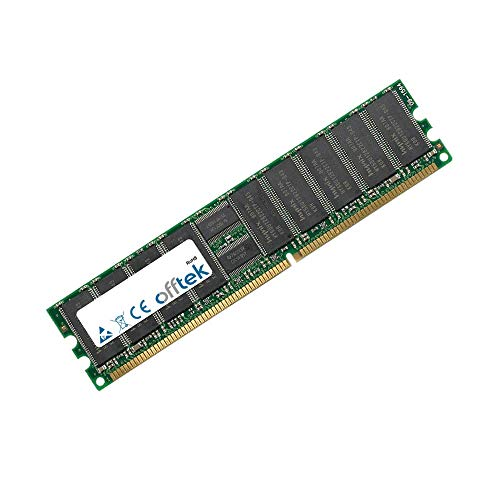 256MB RAM Memory 184 Pin Dimm - 2.5V - DDR - PC2700 (333Mhz) - ECC Registered - OFFTEK -