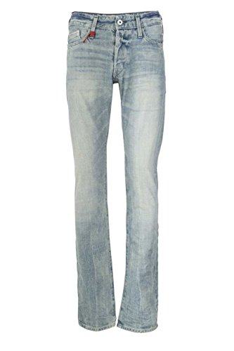 Replay Herren Regular Slim Leg Jeans Waitom Hellblau
