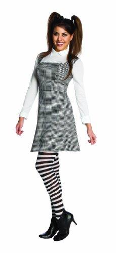 Van Kostüm Helsing - Frankenweenie Elsa Van Helsing Dress & Tights Costume Adult One Size Fits Most