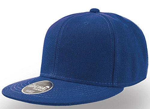 Preisvergleich Produktbild Kinder Jungen Mädchen Snapback blau Kindermütze Baumwolle Mütze Schirmmütze