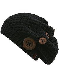 CHILLOUTS Nelly Sombrero Para Mujer, mujer, Mütze Nelly Hat, Negro (Black), talla única