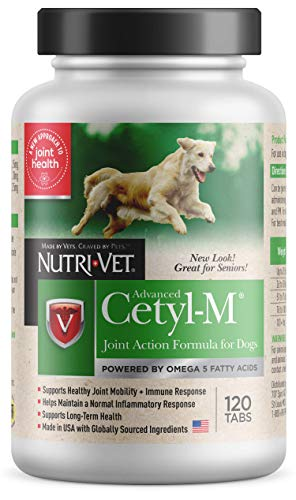 Advanced Cetyl M Joint Action Formula for Dogs - 120 tablets by Cetyl M - Tabletten Advanced Formula