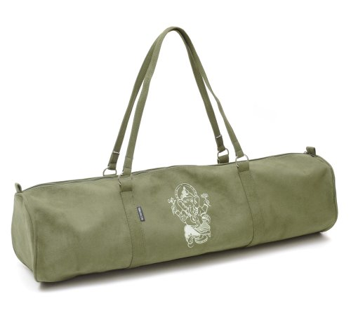 Yogistar Yogatasche Citybag Ganesha - Velour - 65 cm - Olive