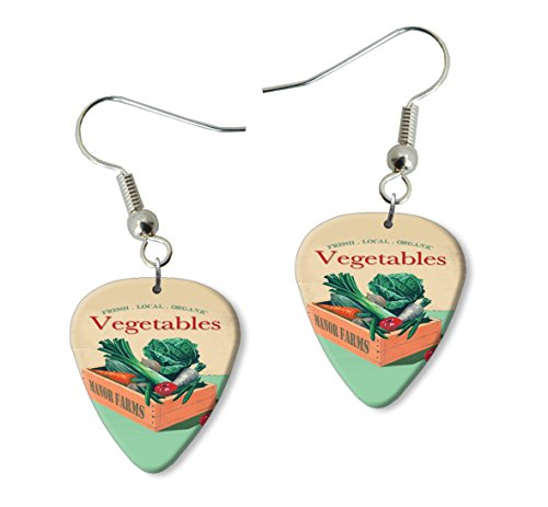 vegetables-martin-wiscombe-guitar-pick-earrings-vintage-retro