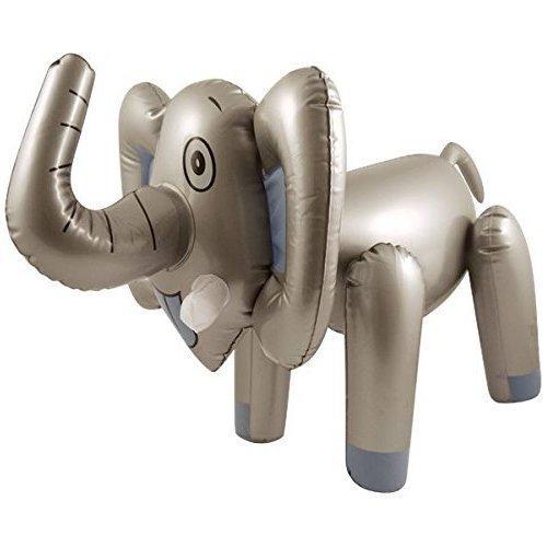 Tiere lebensgroß 210 cm Aufblasbarer Elefant XXL Deko Kinder Spielzeug