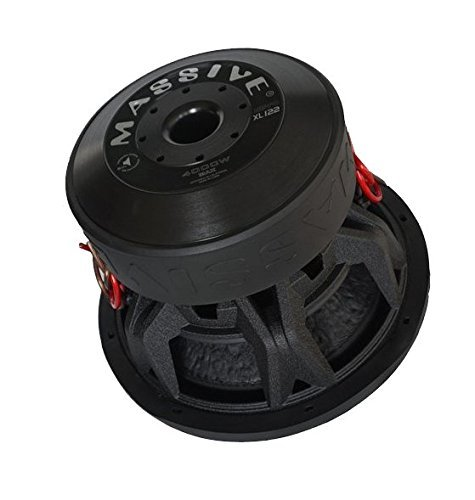 Massive Subwoofer 12 (Autostyle MS HIPPO122 Massive 2 und 2 Cast Subwoofer, 12 Zoll)