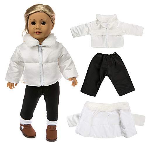 Gaddrt Puppenkleider Kleidung Zubehör für Niedliche Kleidung Daunenjacke für 18 Zoll American Boy Puppe Zubehör Mädchen Spielzeug (18-zoll-american Mädchen Puppe)