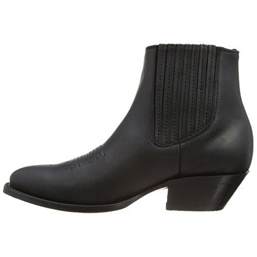 Grinder Mens 492 Maverick Leather Boots Noir