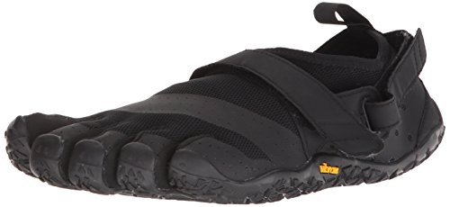 Vibram FiveFingers 18M7301 V-Aqua, Aqua Schuhe Herren, Schwarz (Black), 45 EU -