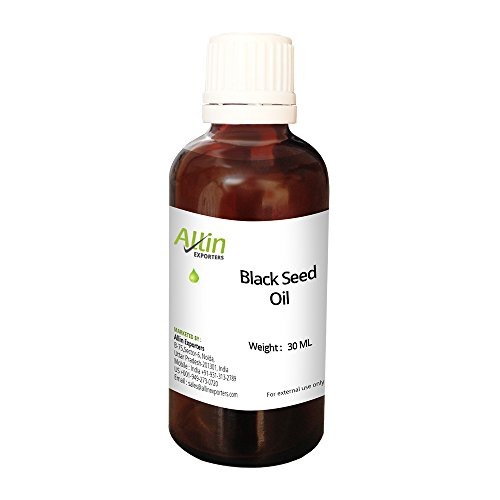 Allin Exporters Black Seed Oil ( Cold Pressed ) - 100% Natural, & Undiluted- 30 ML