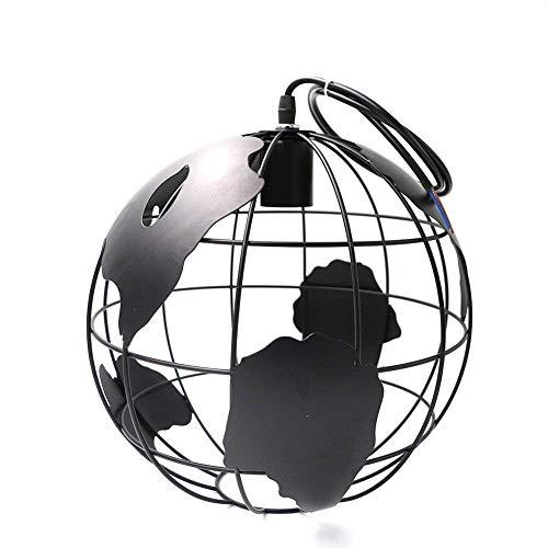 W-LI Erde Eisen Pendelleuchte Licht Schatten 28 cm Schwarz, Weiß für Küche Insel Speisesaal Restaurant Dekoration 220 v E27 -