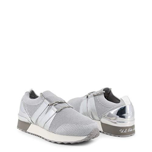 Damen Sneakers U.S. Polo Grau, Modell: FRIDA4142S9, Größe:37 (Us Polo Damen Sneaker)