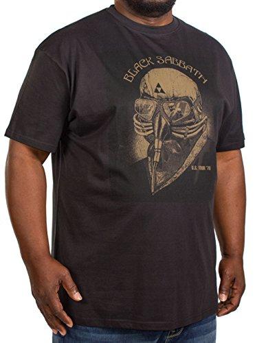 Replika -  T-shirt - Uomo Black XX-Large