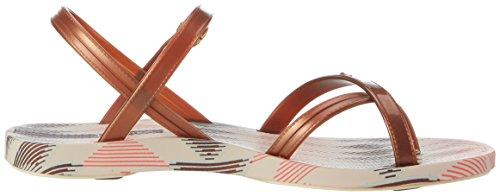 Ipanema Damen Fashion Sand Iv Fem Zehentrenner Mehrfarbig (beige/bronze)