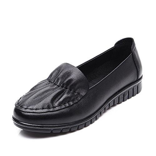 casual chaussures femme/Au milieu en bas doux et souliers pour dames âgées vieux/Chaussures de maman/Chaussures pour femmes grande taille A