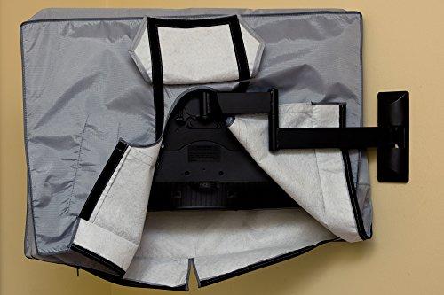 28, 29, 32  Zoll Vizomax TV Abdeckung. Fernseher Abdeckung für Außen- und Innenanwendung. Staub und wasserfest TV schutz – für HDTV, LCD, LED und Plasma TV – Displayschutz - 5