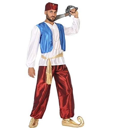 Kostüm Baba Ali - Atosa 96909 - Verkleidung Arabischer Prinz, Erwachsene, Größe 50-52