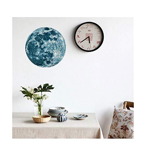 Yesot Wandaufkleber/Wandaufkleber, 20 cm, 3D, groß, fluoreszierend, ablösbar, leuchtet im Wohnzimmer, Schlafzimmer, Kinderzimmer, Büro C grün ()