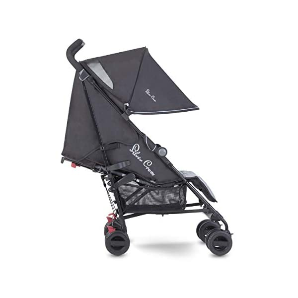 Silver Cross Zest Powder Blue Silver Cross Ultra lightweight zest pushchair, weighing in at only 5.8kg, is suitable from birth up to 25kg It has a convenient one-hand fold, while the compact design makes it easy to store The fully lie-flat recline is best in its class 1