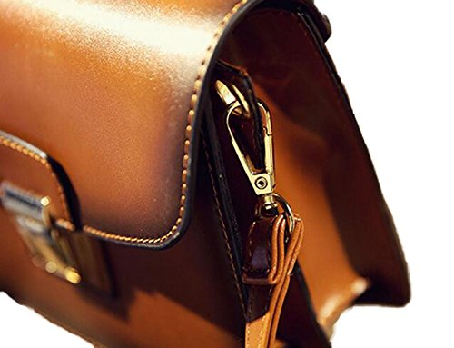 Ms. Messenger Blocco Catena Di Moda Bag Black