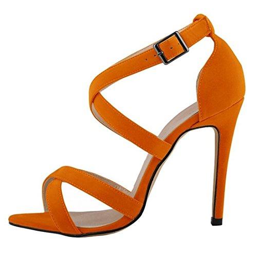 Azbro, Sandali donna Orange