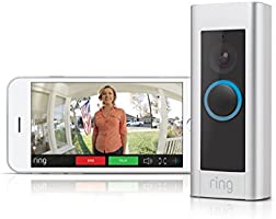 Ring Video Doorbell Pro - Kit with chime and transformer, 1080p HD, two-way talk, wifi, motion detection