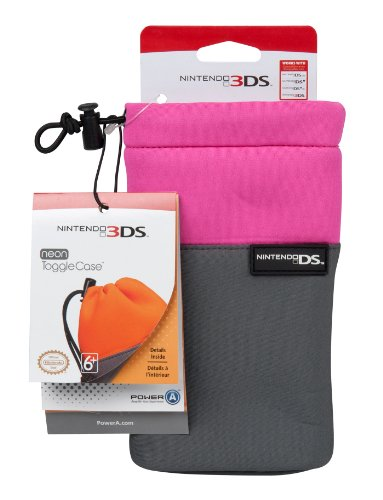 Nintendo Licensed Neon Toggle Case -Pink (Nintendo 3DS/DSi XL/DSi/DS Lite) (Pink Nintendo Dsi Xl)