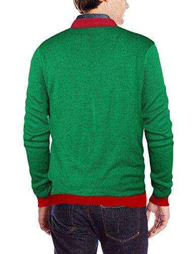 Unisex Weihnachten Pullover,Leapparel Herren und Damen Strickpullover Ugly Christmas Sweater Jumper Fasching Kostüm X-mas Katze