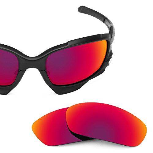 Verres de rechange pour Oakley Racing Jacket Asian Fit — Plusieurs options Soleil de Minuit MirrorShield® - Polarisés