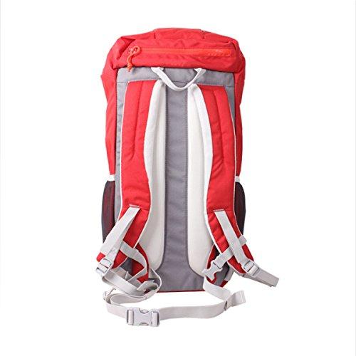LQABW Männer Und Frauen Universal Outdoor Bergsteigen Tasche Wandern Großer Rucksack Orange
