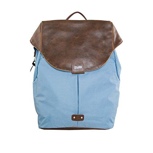 """zwei Olli O12 Rucksack mit Laptopfach 13"""" 32 cm Blue"""