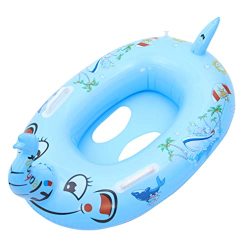 Cloud Kids Schwimmhilfen Baby Schwimmring Aufblasbarer Schwimmreifen mit Doppel Griffe Schwimmbad für Kinder von 1-6 Jahre (für Kinder von 1-6 Jahre, Elefant)