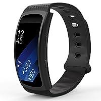 Compatibilità: Progettato su misura per il vostro preziosoSamsung Gear Fit2 SM-R360 Smart Watch, questo MoKo Samsung Watch cinturino presenta una combinazione di funzionalità e stile.Descrizione del prodotto: * Personalizzare il tuo Samsung G...