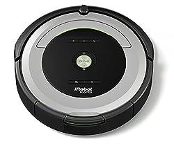 iRobot Roomba 680 Saugroboter (reinigt alle Hartböden und Teppiche, Dirt Detect Technologie, 3-Stufen-Reinigungssystem, Reinigung nach Zeitplan) silber