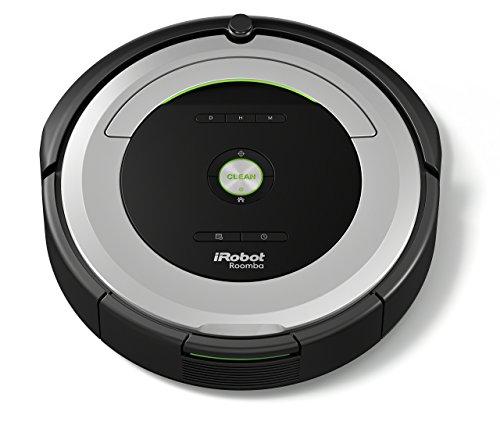 iRobot Roomba 680 Saugroboter (reinigt alle Hartböden und Teppiche, Dirt Detect Technologie, 3-Stufen-Reinigungssystem, Reinigung nach Zeitplan und Zubehör) silber