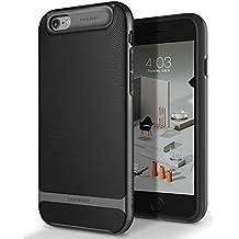 Funda iPhone 6S, Caseology [serie Wavelength] delgada doble capa con proteccion de buena calidad y sujecion tactil 3D [Negro - Black] para el Apple iPhone 6S (2015) & iPhone 6 (2014)