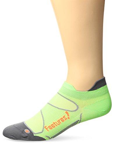 FEETURES Elite–Ultra Ligera Unisex cojín no show calcetines de Tab
