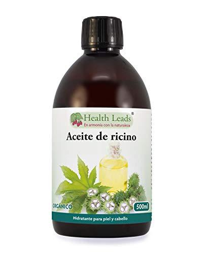 Aceite ricino prensado frío orgánico 500ml   Puro