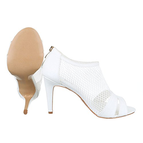 Ital-Design, Sandali donna Bianco