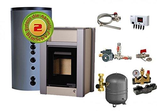 Kaminofen Wasserführend Aquaflam Vario Lend Manual 11 kW Komplettpaket