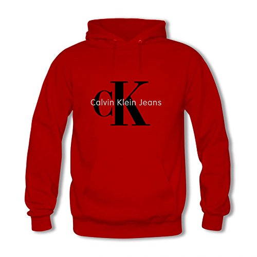 CK Tops Tops T Shirt Womens Fashion Hoodie Calvin Klein Sweatshirt Red