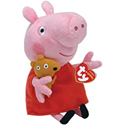 Ty Peluche de Peppa Pig 16cm 7902