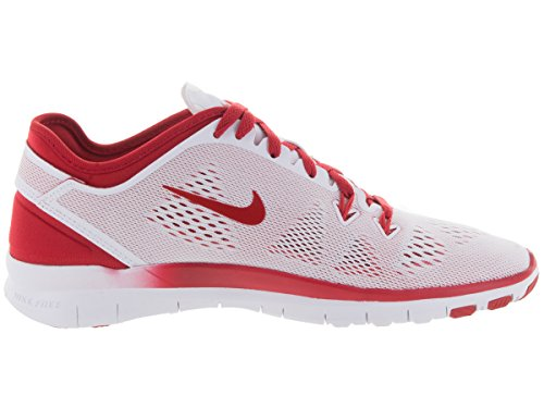 Nike W Free 5.0 Tr Fit 5 Brthe, Scarpe sportive, Donna White/Sport Red