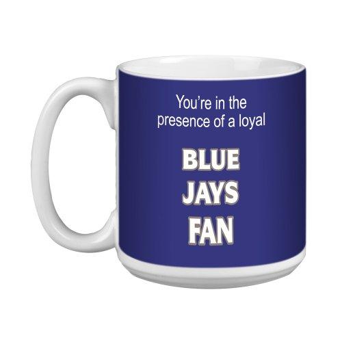 Tree-Free Greetings Baumfreie Grüße xm28105Blue Jays Baseball Fan Künstlerische Jumbo Tasse, 591ml