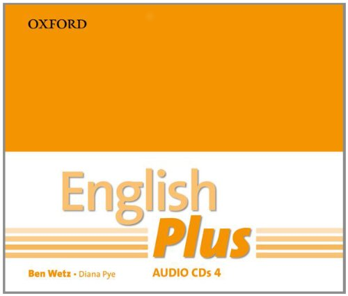English Plus: 4: Audio CD: An English secondary course for students aged 12-16 years.